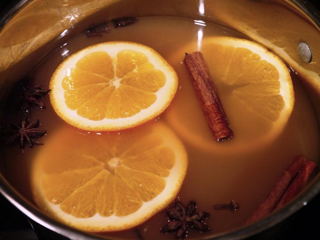 Mulled Cider in Zee Pot
